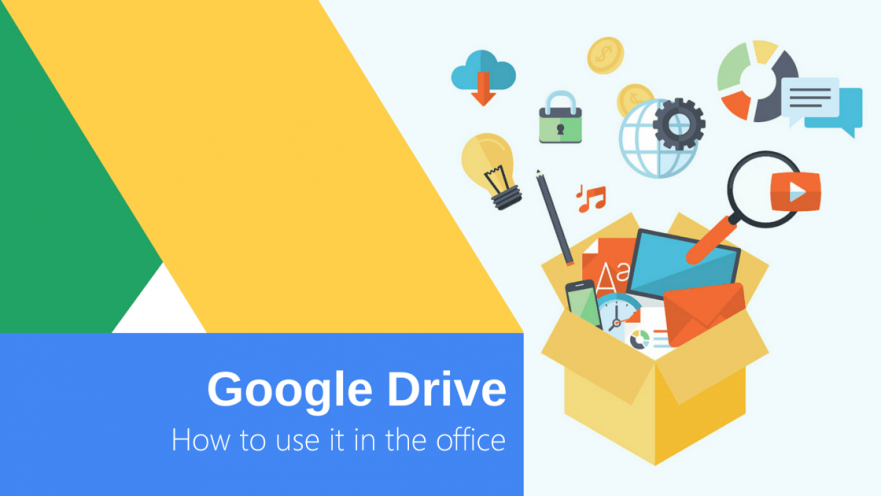Google Drive howto use it in office